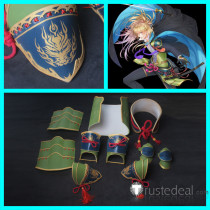 Touken Ranbu Koryuu Kagemitsu Shoulder Waist Wrist Armor Guard Accessories Cosplay Props
