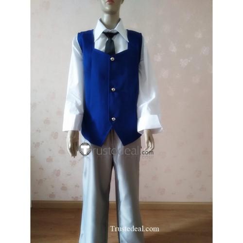 Assassination Classroom Shiota Nagisa Blue Cosplay Costume