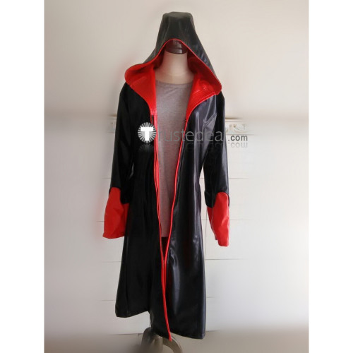 Devil May Cry 5 Dante Black Trench Coat Cosplay Costume