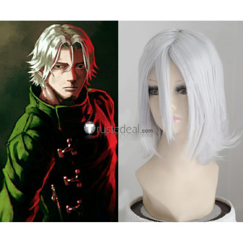 Tokyo Ghoul Renji Yomo Silver Gray Cosplay Wig