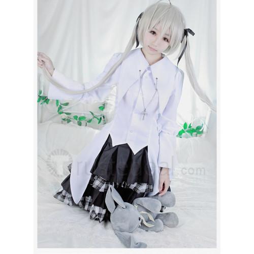 Yosuga no Sora Sora Kasugano White and Black Lolita Cosplay Costume