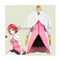Akagami no Shirayukihime Shirayuki Pink White Cosplay Costume 4
