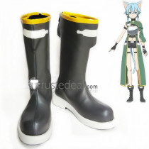 Sword Art Online ALO Sinon Cait Sith Cosplay Boots