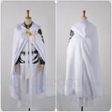 Seraph of the End Owari no Serafu Mikaela Hyakuya White Cosplay Uniform Costume