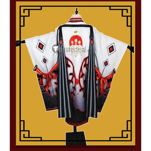 Onmyoji Onikiri Awakened Kimono Cosplay Costume Horns