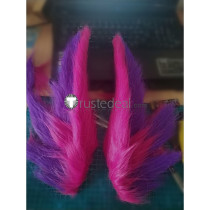 League of Legends LOL Star Guardian 2019 Xayah Cosplay Ears Accessories Props