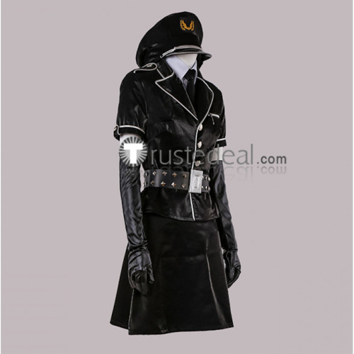 Persona 5 Dancing in Starlight Protagonist Ren Amamiya Female Cop Uniform Cosplay Costume