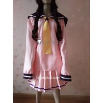 Blend S Maika Sakuranomiya Pink School Cosplay Costume
