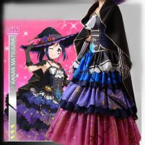Love Live Sunshine Aqours Ruby Kanan Chika You Yoshiko Mari Hanamaru Halloween Cosplay Costumes2