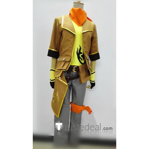 RWBY Yang Xiao Long Genderbend Male Cosplay Costume