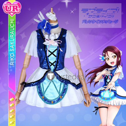 Love Live Sunshine Aqours 2nd Season 12th ED Water Blue New World Hanamaru Ruby Dia Mari Chika Yoshiko Riko Kanan Cosplay Costume