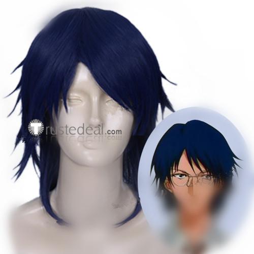 Prince of Tennis Yushi Oshitari Blue Cosplay Wig
