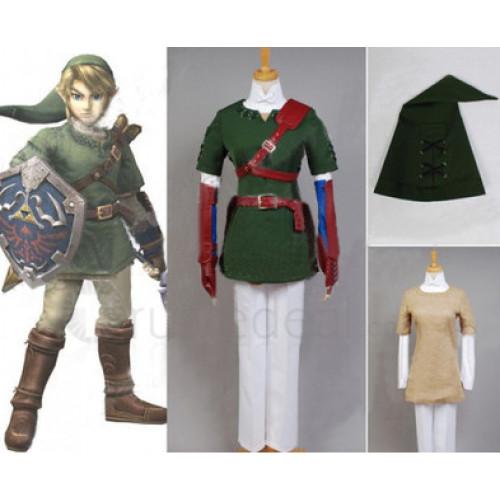 The Legend of Zelda Link Cosplay Costume 2