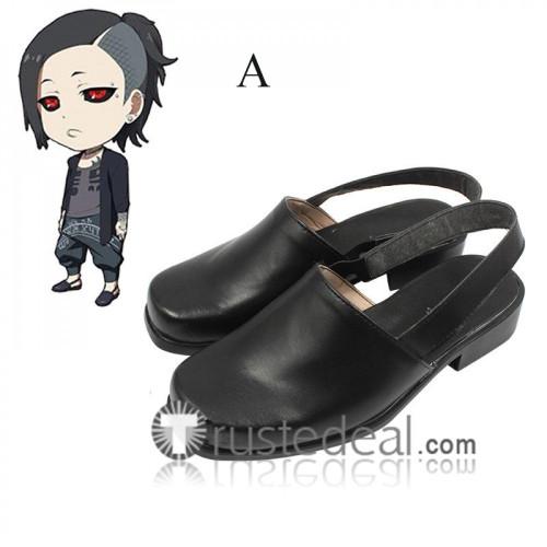Tokyo Ghoul Uta Black Cosplay Shoes Two Versions
