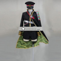 Touken Ranbu Hotarumaru Black Cosplay Costume
