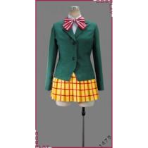 Yowamushi Pedal Sohoku High School Girl Uniform Cosplay Costume Tailor-Made