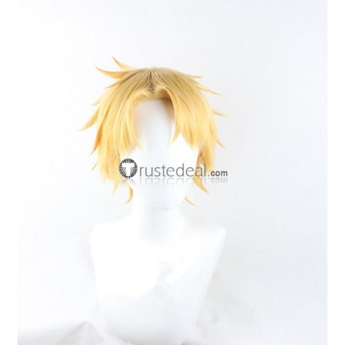 Vampire Knight Ichijou Takuma Hanabusa Aidou Blonde Cosplay Wigs