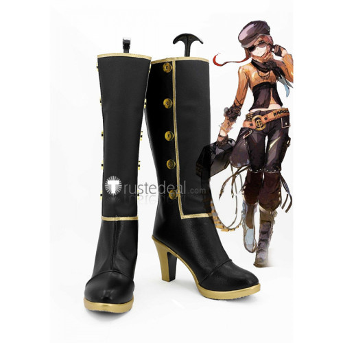 RWBY Team CFVY Coco Adel Black Cosplay Boots