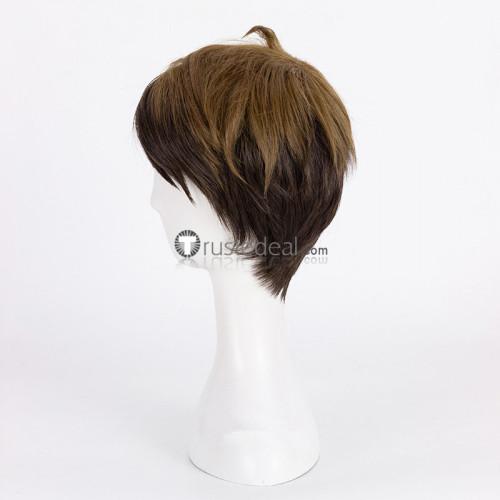 Haikyuu Haikyuu Shiratorizawa Wakatoshi Ushijima Brown Cosplay Wig