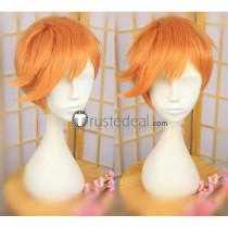 Touken Ranbu Iwatooshi Orange Cosplay Wig