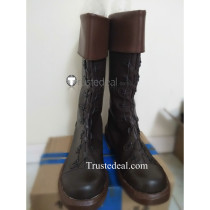 One Piece Smoker Brown Cosplay Boots Shoes