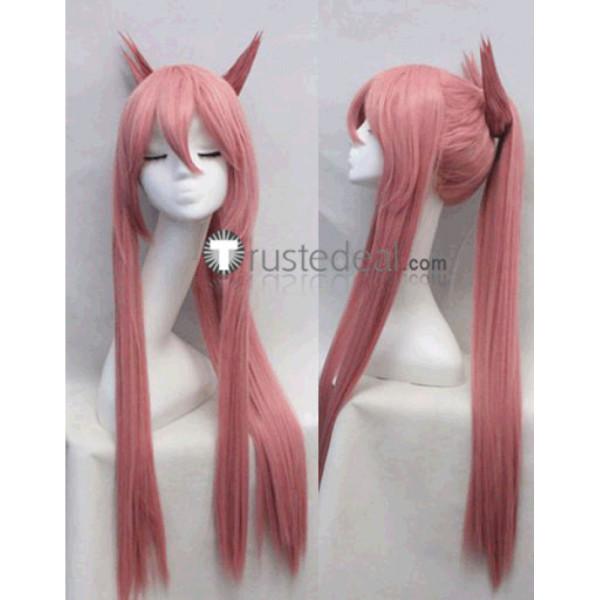 BLAZBLUE Kokonoe Mercury Pink Cosplay Wig