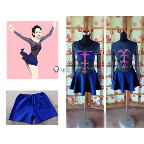 Yuri on Ice Katsuki Yuuri Genderbend Female Free Skate Cosplay Costume