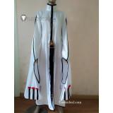 BLAZBLUE Kokonoe Mercury White Red Cosplay Costume