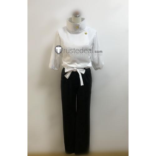 Jujutsu Kaisen Yuta Okkotsu White Black Cosplay Costume