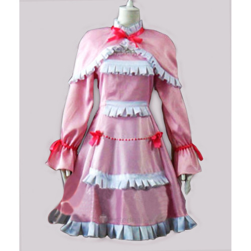 Another Misaki Fujioka Pink Cosplay Dress