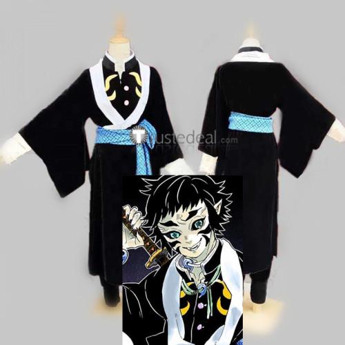 Demon Slayer Kimetsu no Yaiba Upper Moon Six kaigaku Kimono Cosplay Costume