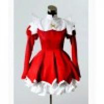 Kaitou Tenshi Twin Angel Haruka Minazuki Red Cosplay Costume
