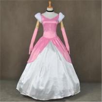 Disney Princess Cinderella Pink Cosplay Costume