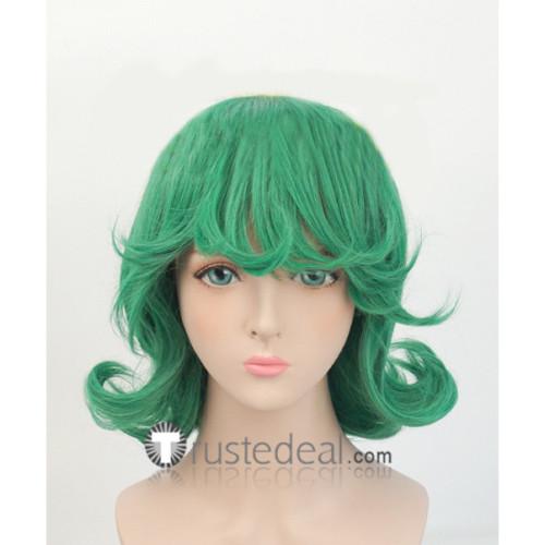 One Punch Man Tornado of Terror Tatsumaki Green Cosplay Wig
