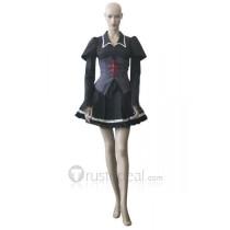 Shugo Chara Utau Hoshina Black Cosplay Costume