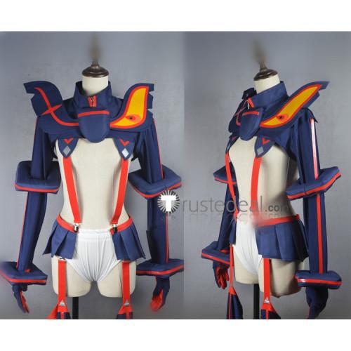 KILL la KILL Ryuko Matoi Fighting Kamui Senketsu Blue Cosplay Costume
