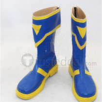 Sword Art Online Silica ALO Blue Cosplay Boots Shoes
