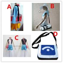 Pokemon Touya Hilbert Hilda Touko Rosa Mei Lillie Cosplay Bags Props