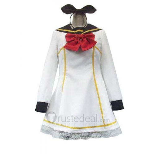 Vocaloid Kagamine Rin Fear Garden Cosplay Costume