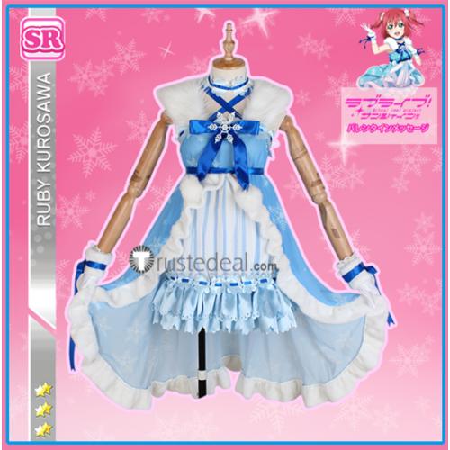 Love Live Sunshine Aqours Event Card Hanamaru Kanan Ruby You Fun in the Snow Cosplay Costume