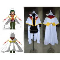 YuGiOh Yuya Sakaki White Cosplay Costume 2