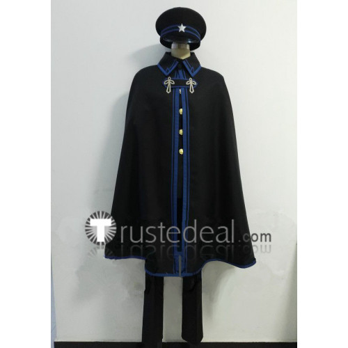 Dai Gyakuten Saiban Naruhodou Ryounosuke no Bouken Ryounosuke Naruhodou Black Green Cosplay Costume