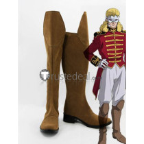 Mobile Suit Gundam Unicorn Full Frontal Cosplay Shoes Boots