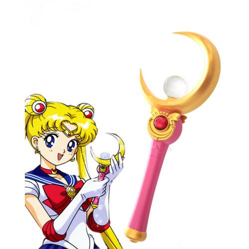 Sailor Moon Tsukino Usagi Cosplay Wand Accessory Props