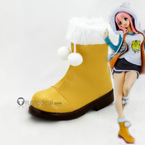 Super Sonico Cosplay Shoes Boots