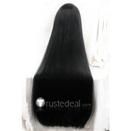 KILL la KILL Satsuki Kiryuin Long Black Cosplay Wig
