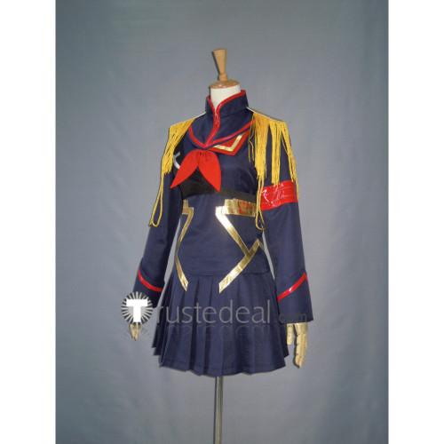 KILL la KILL Ryouko Matoi Dark Blue dress Cosplay Costume