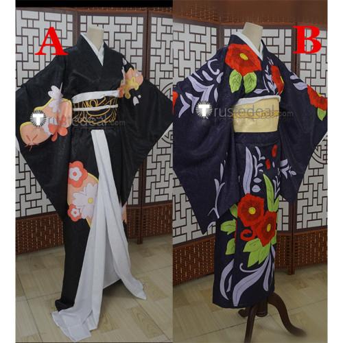Kimetsu no Yaiba Demon Slayer Tamayo Kibutsuji Muzan Female Version Kimono Cosplay Costume