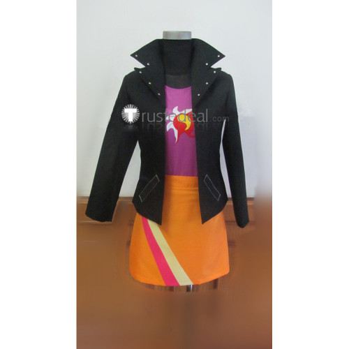 My Little Pony Equestria Girls Sunset Shimmer Black Orange Cosplay Costume
