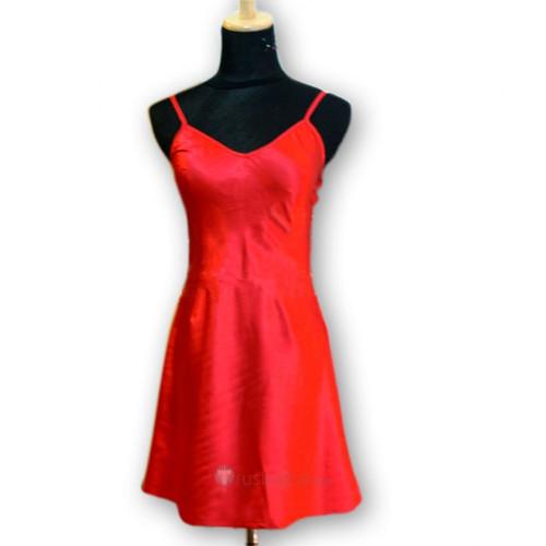 Panty & Stocking with Garterbelt Red Suspender Skirt